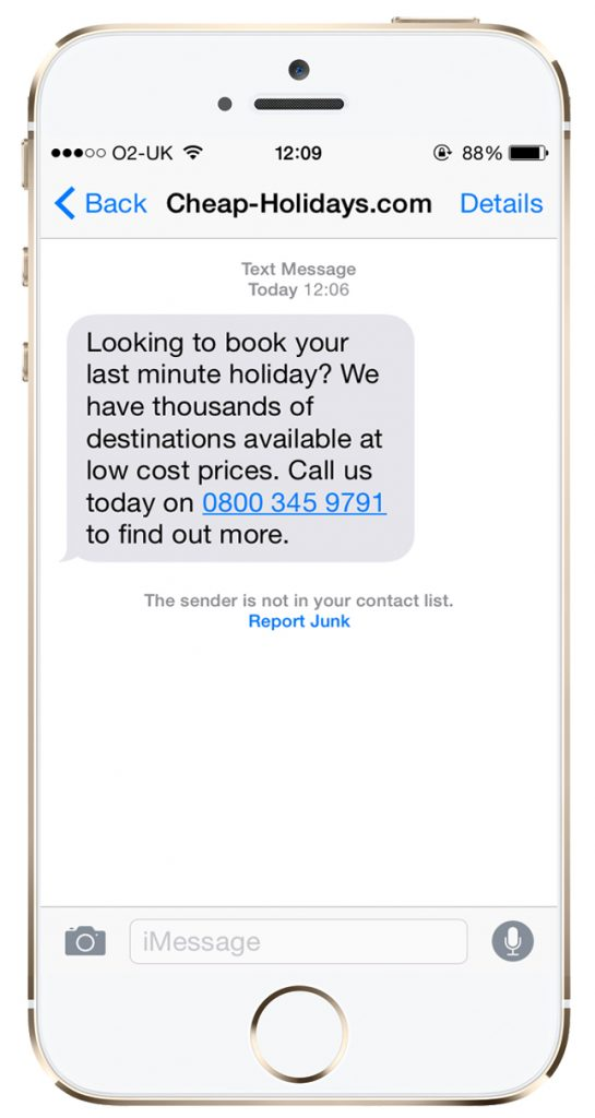 TextAnywhere Travel Agents SMS Marketing