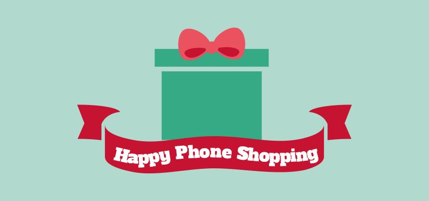 Smartphone Christmas shopping