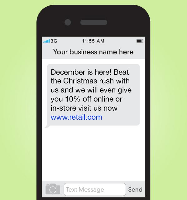 Christmas mobile marketing