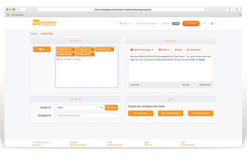Web-based mobile marketing platform
