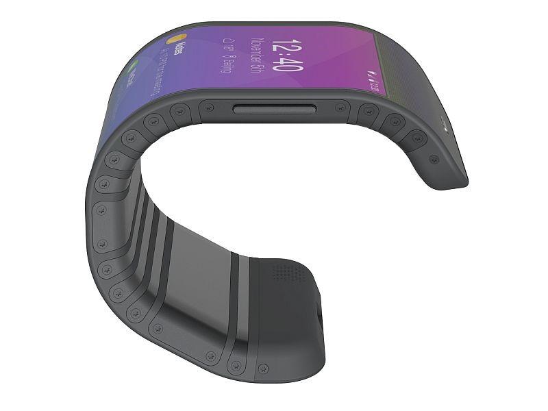 Lenovo bendy phone