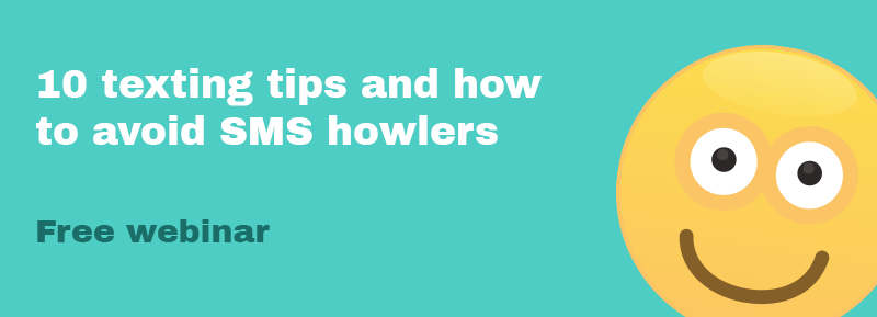 10 texting tips and how to avoid SMS howlers with Bond
