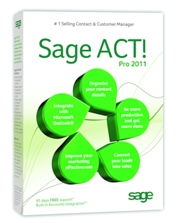 Send SMS from SAGE ACT software