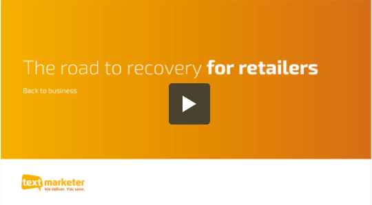 TM webinar The road to recovery for retailers title slide