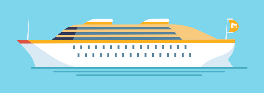 A picture of the Text Marketer ship