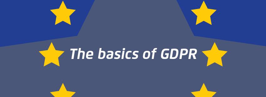 The basis of GDPR