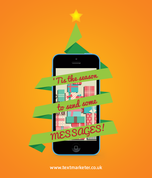 Christmas mobile marketing messages