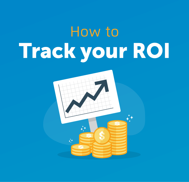 How to track your ROI - Illustration of line graph