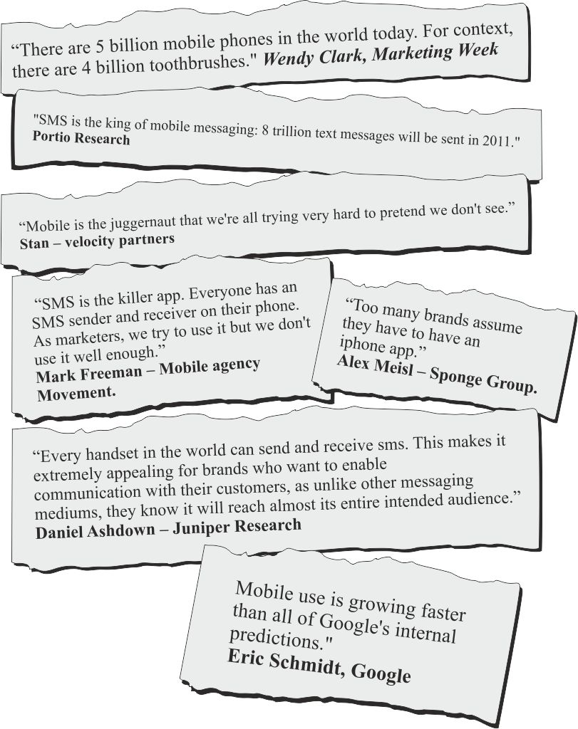 mobile marketing quotes
