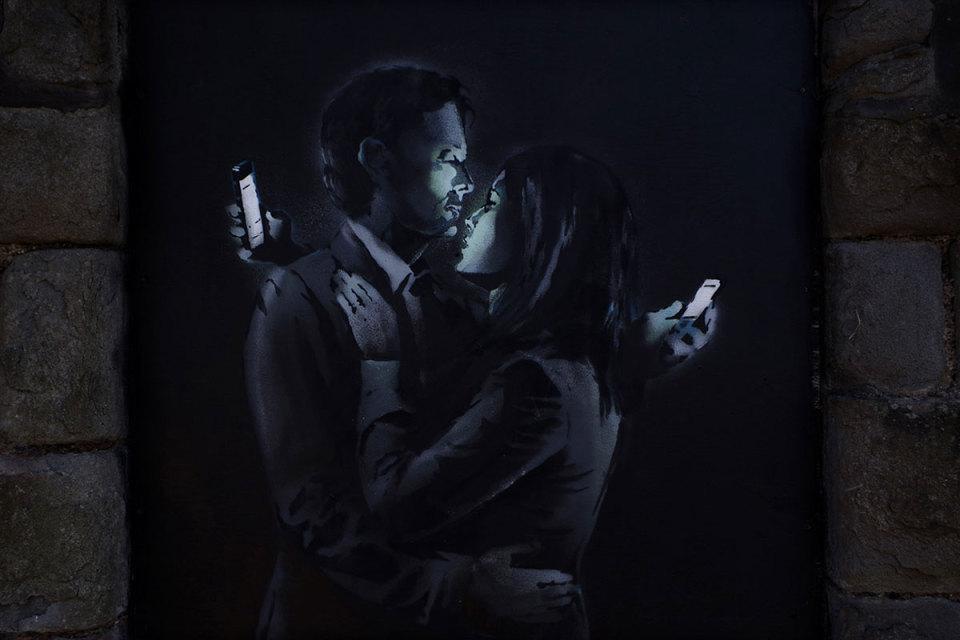 Banksy Modern Love