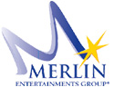 Merlin entertainments logo for Text Marketer testimonials