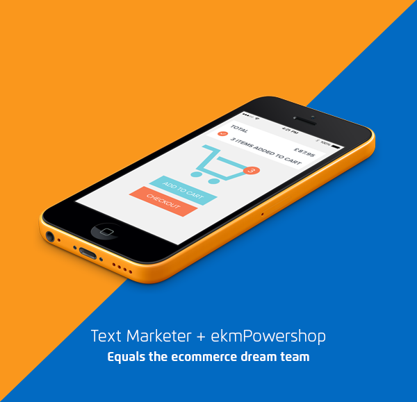 ekmPowershop ecommerce retail SMS marketing