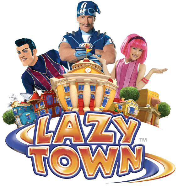 Lazy town - text to win
