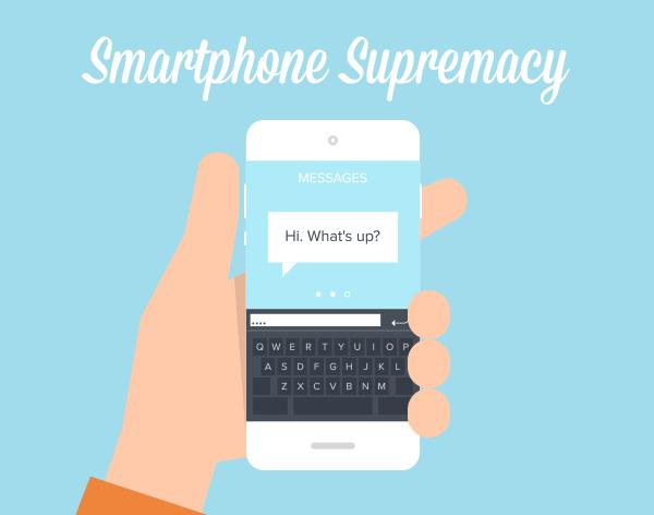 Smartphone supremacy stats
