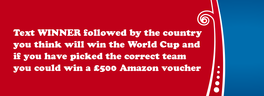 win the world cup with SMS