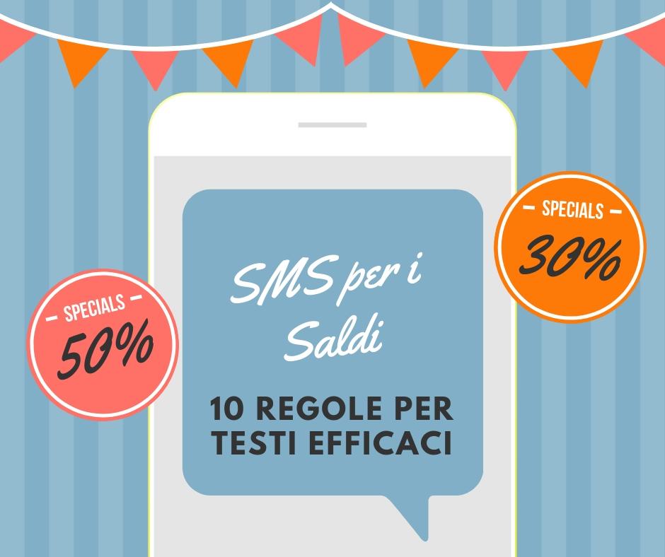 10 regole per scrivere SMS per i saldi efficaci