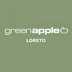 Aumentare le vendite in negozio con l'SMS - Green Apple Logo