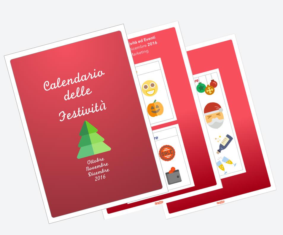 calendario delle festività preview
