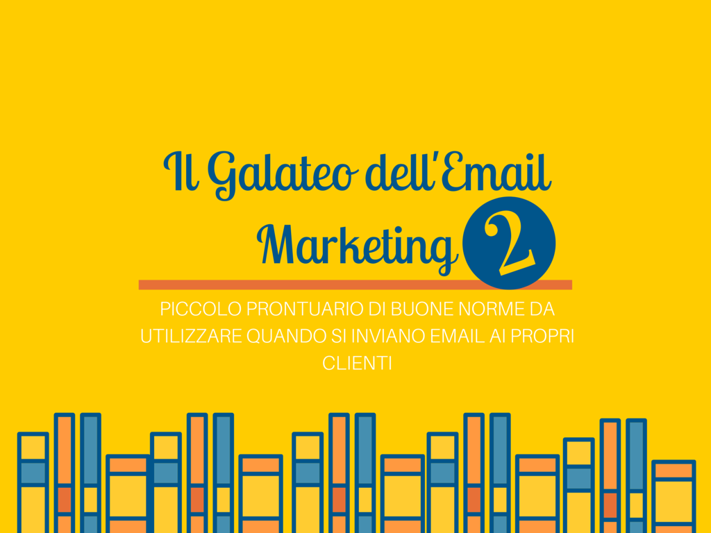 norme dell'email marketing