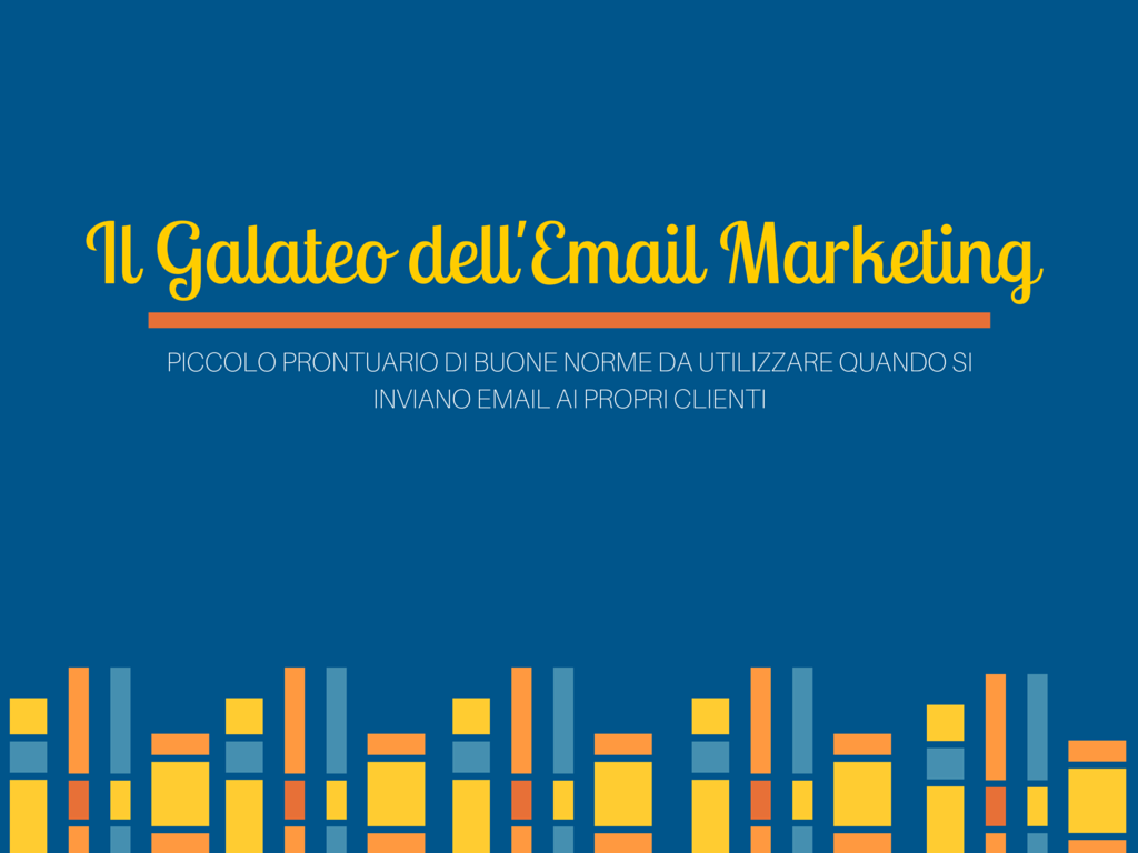regole dell'email marketing featured image