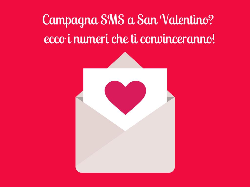 Campagna SMS di San Valentino: i numeri che convincono