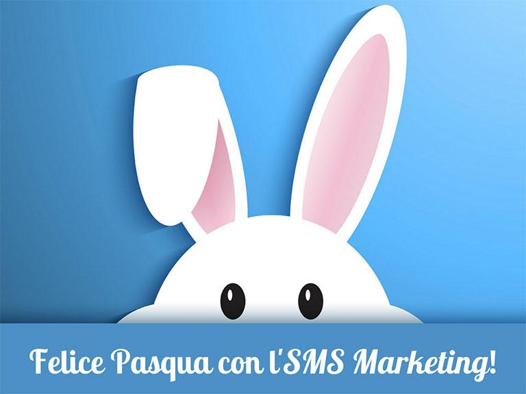 Inviare SMS di Pasqua - Auguri per clienti