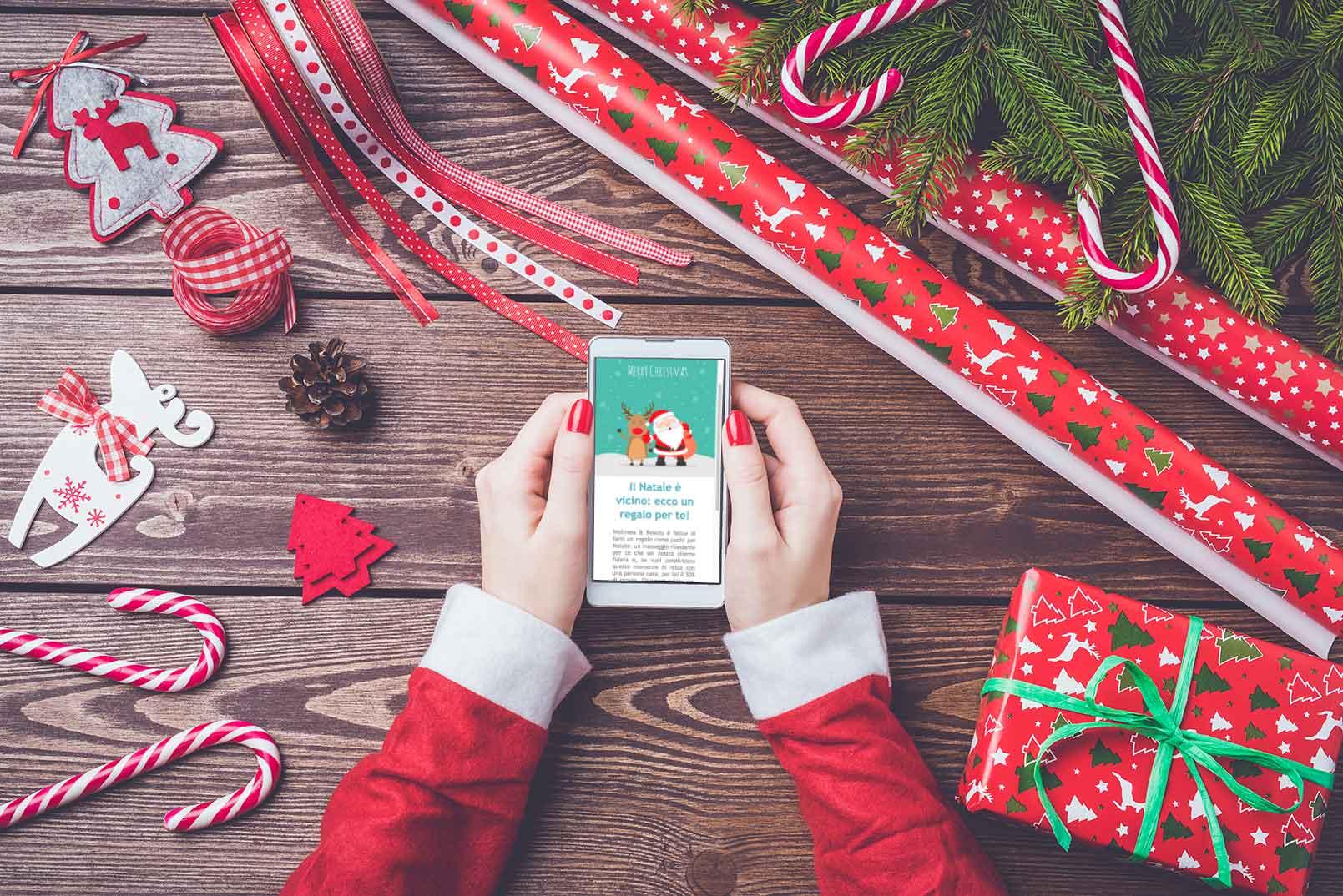 Landing Page di Natale