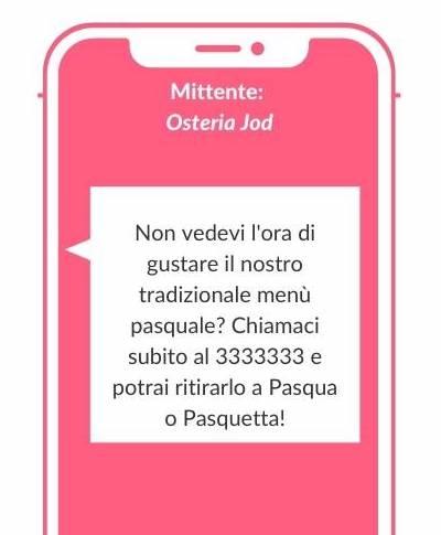 Marketing per Pasqua con: SMS, EMAIL e Landing Page