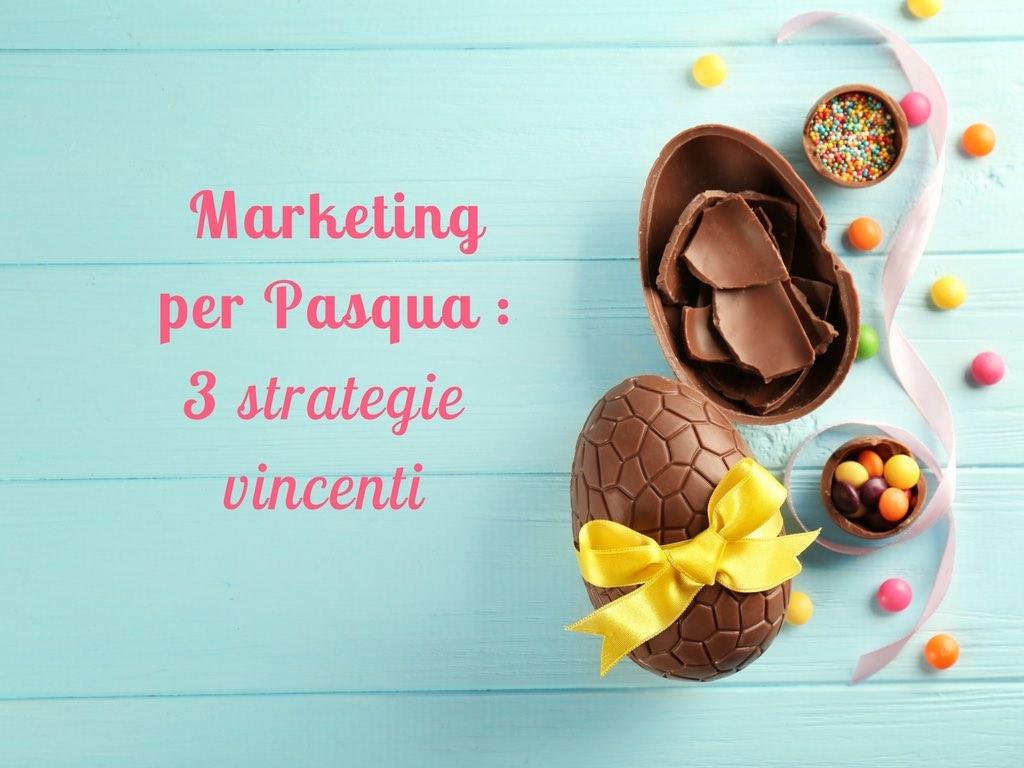 Marketing per Pasqua con SMS, EMAIL e Landing Page