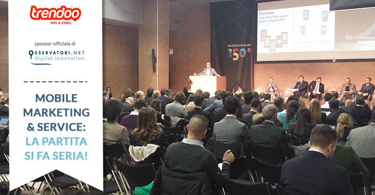 Mobile marketing & Service Osservatori Polimi 2015