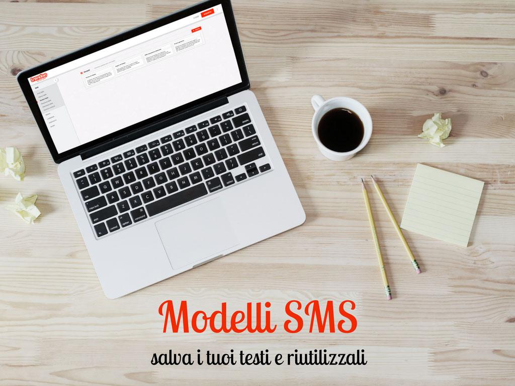 Modelli SMS salva i tuoi testi