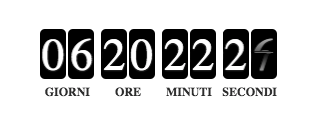 Nuovi elementi landing page - Countdown