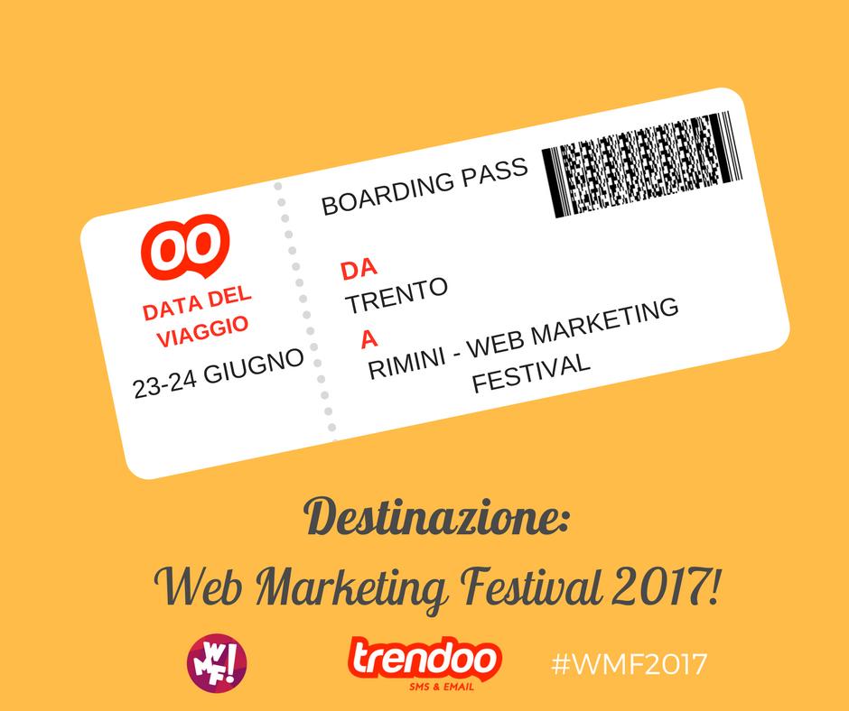 Trendoo - Web Marketing Festival 2017