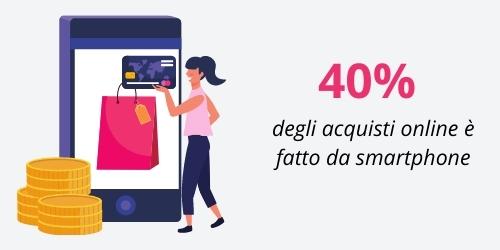 acquisti online da smartphone