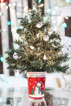 decorazioni natalizie negozio