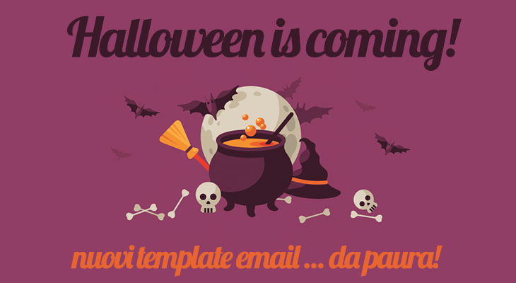 template email halloween