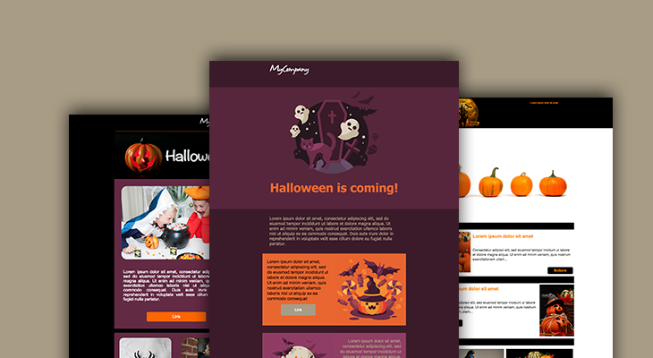 template halloween newsletter