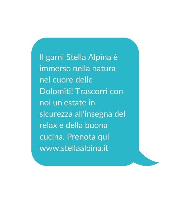 marketing per il turismo - sms