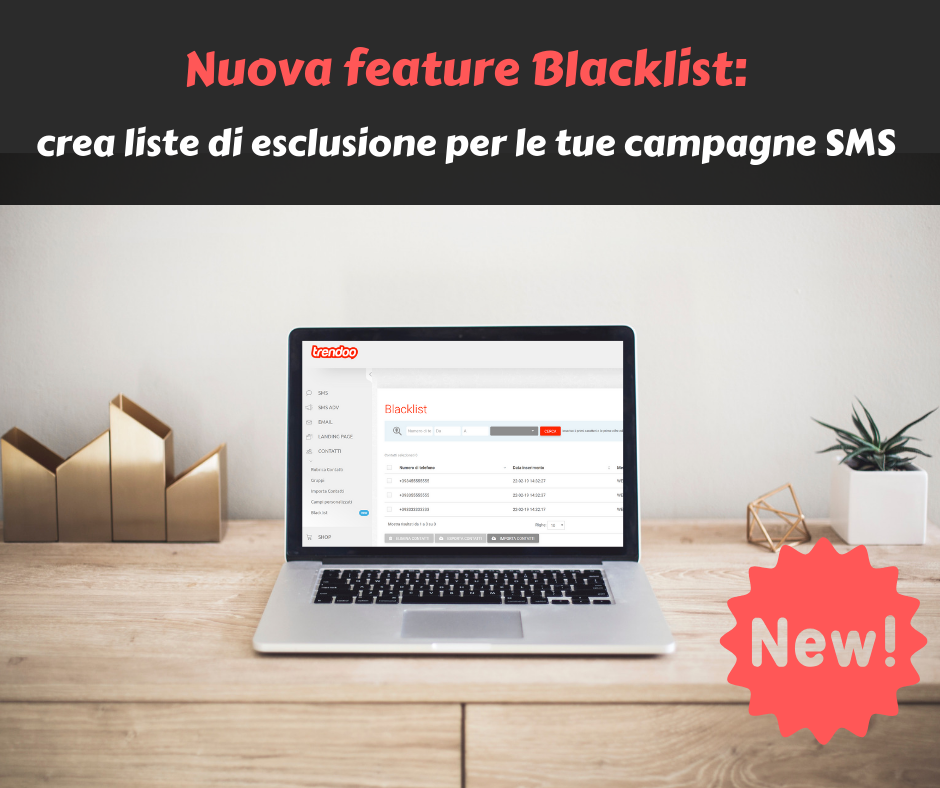 nuova feature blacklist