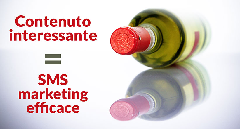 sms marketing efficace? contenuto interessante!