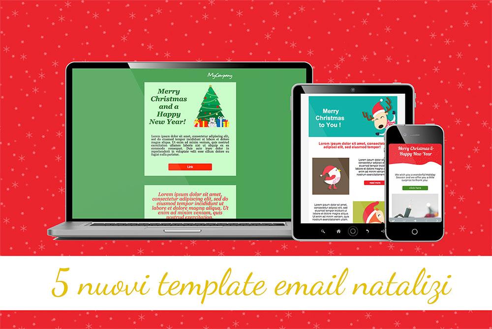 nuovi template email natalizi