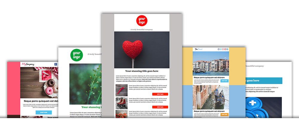 template email responsive