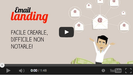 video email landing