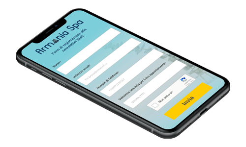 Form Online personalizza il form landing page
