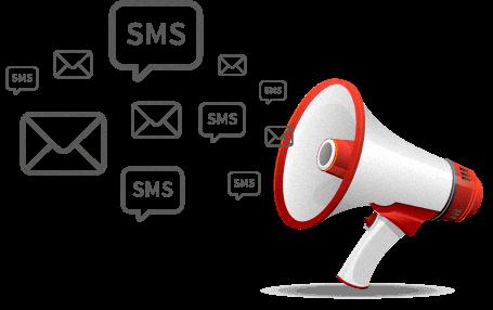 promozione sms e email