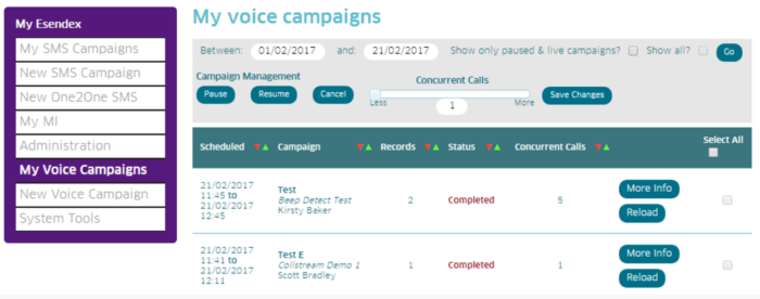 My Voice Campaigns