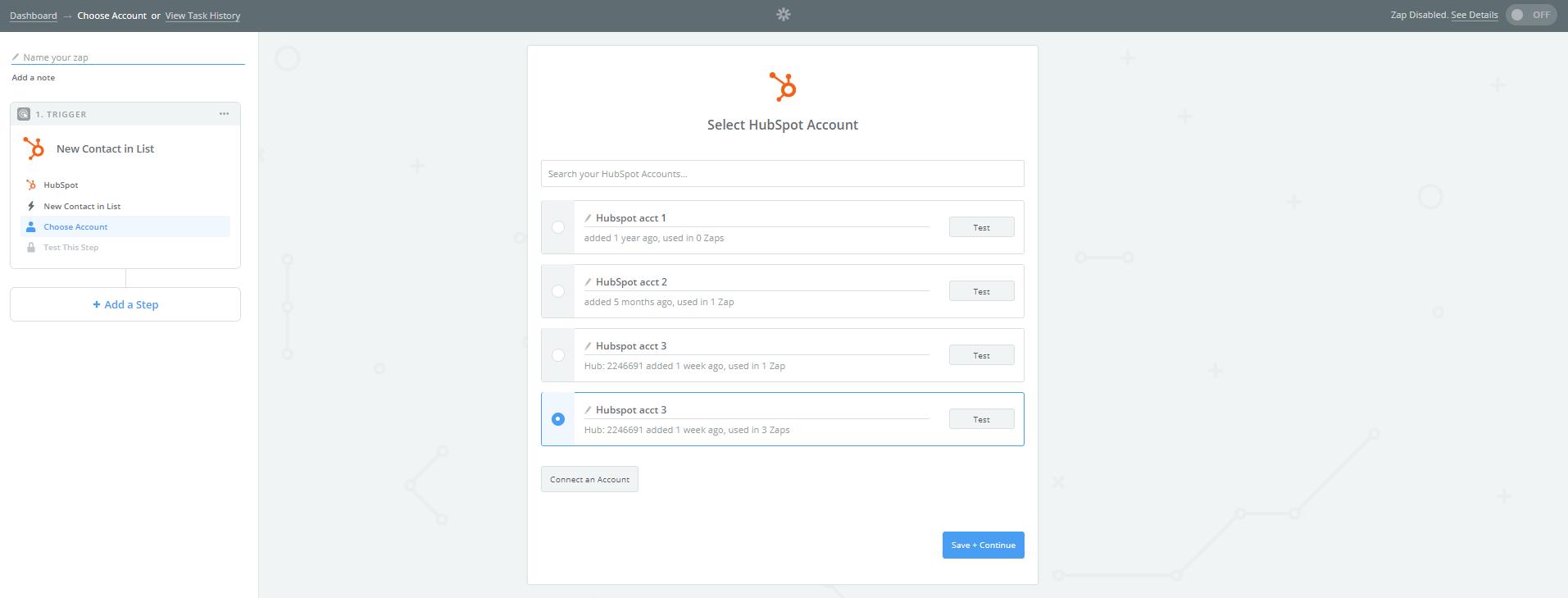 conecta tu cuenta de Hubspot