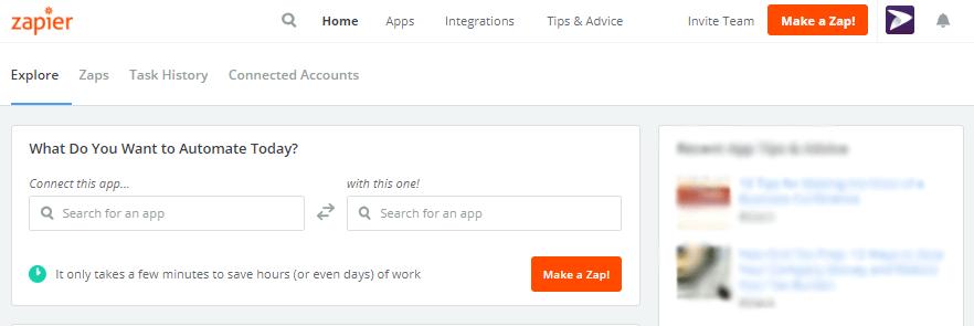 Elige dos apps